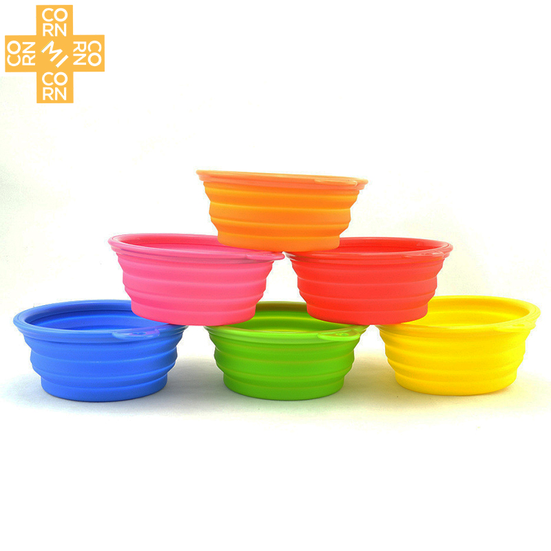 Bowls, Portable, Silicone, Bowl, Product, With