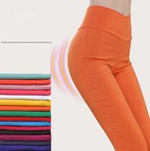 Новые женские брюки белые стрейч обтягивающие длинные леггинсы черные брюки для женщин 2018 осень утепленные женские Лосины 97KK16-1-12