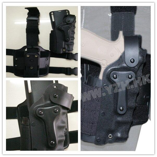 Funda De Pistola Militar del ejército de Airsoft Paintball Shooting SWAT Combate