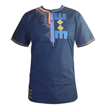 2019 Men camisas hombre African Embroidered Awesome Colors Traditional Mali Vintage Dashiki Top 2015 camisas