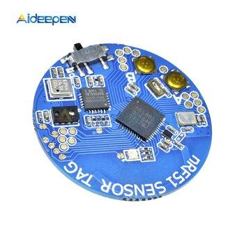 NRF51802 Moduł Czujnika Przyspieszenia Ciśnienia Atmosferycznego Bluetooth 4.0 SOC Czujnik światła żyroskopu Wymienić NRF51822