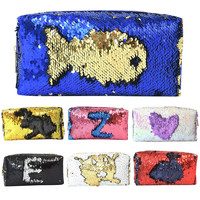2018 New Fashion Cosmetic Bag Mermaid Sequin Handbag Pencil Case Casual Kawaii Makeup Coin Pouch Storage Zipper Purse Bag Makeup Tools & Accessories