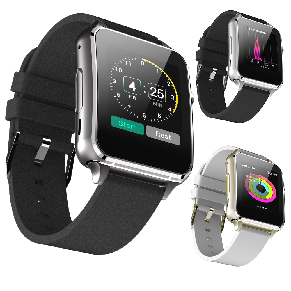 M88 Smart Watch Heart Rate Support GSM SIM TF Card Wristwatch Electronic Clock font b Smartwatch