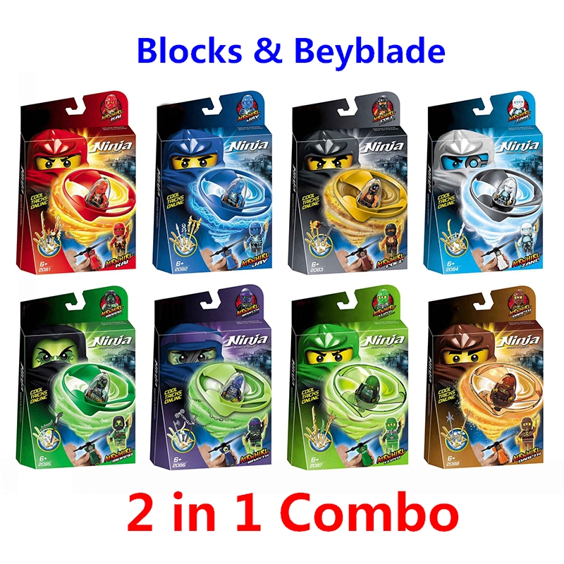 2018 Ninjago Spinning Top Ninja beyblade Zane Cole Lloyd Kai Jay Action Figures Building Blocks Toys Compatible With Lego Gift [yamala] 15pcs lot compatible legoinglys ninjagoingly cole kai jay lloyd nya skylor zane pythor chen building blocks ninja toys