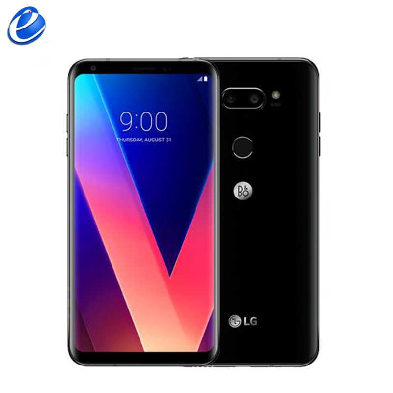 Оригинальный разблокированный телефон LG V30 H930, версия ЕС, Восьмиядерный, одна Sim, Android, 6,0 дюймов, 4G ram, 64G rom, 4G LTE, отпечаток пальца
