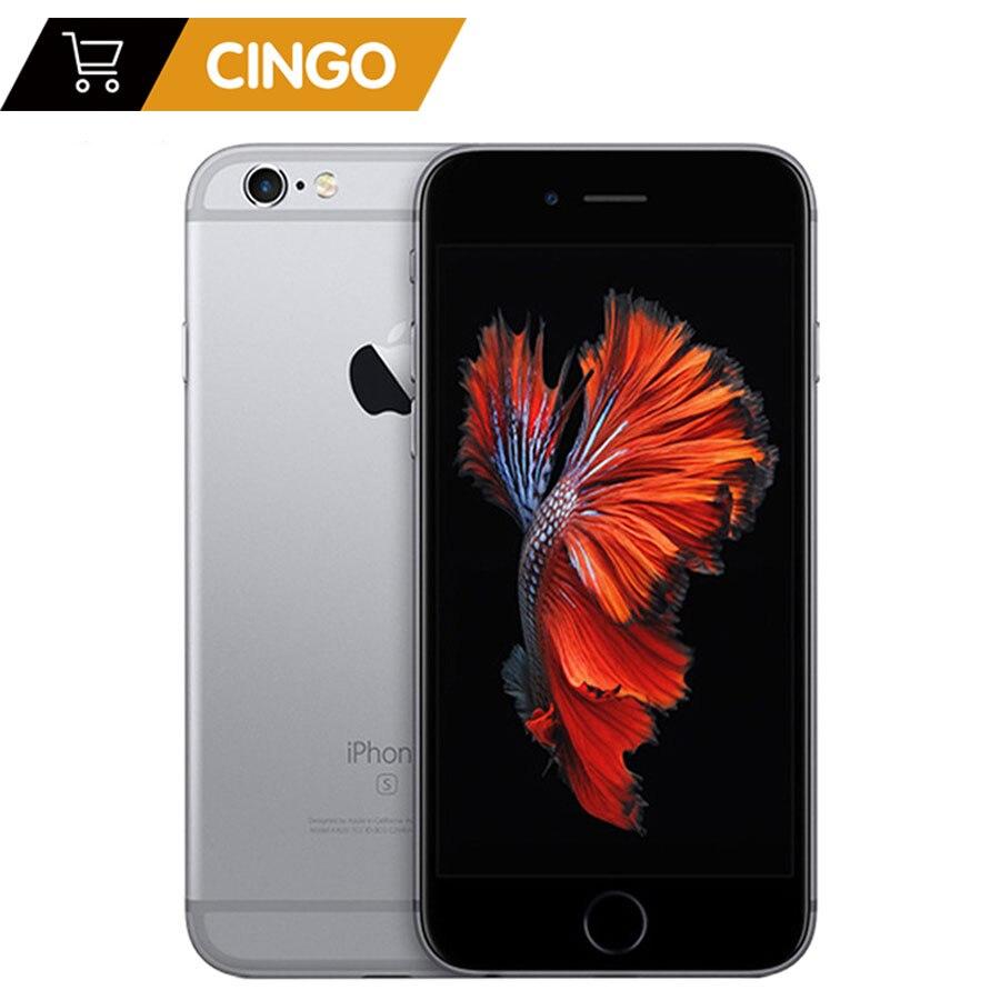 Déverrouillé Apple iPhone 6 s 2 GB RAM 16/64/128 GB ROM Téléphone portable IOS A9 Double core 12MP Caméra IPS LTE Téléphone Intelligent