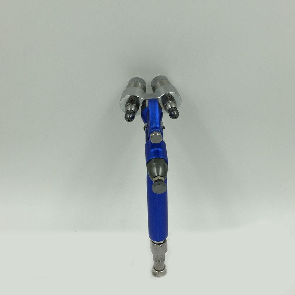 цена на SAT1201 air brush dual action painting airbrush spray gun double nozzle pressure chemical spray gun air pressure tools