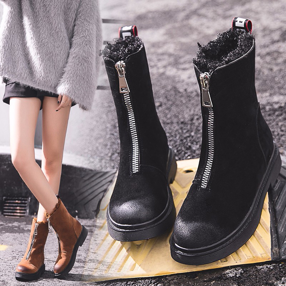 Women Boots Shoes Winter Keep Warm Snow Boots