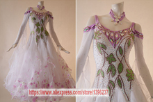 Ballroom Dance Dress Women High Quality Custom Made Waltz Tango Flamenco Modren Ballroom Competition Dance Dresses