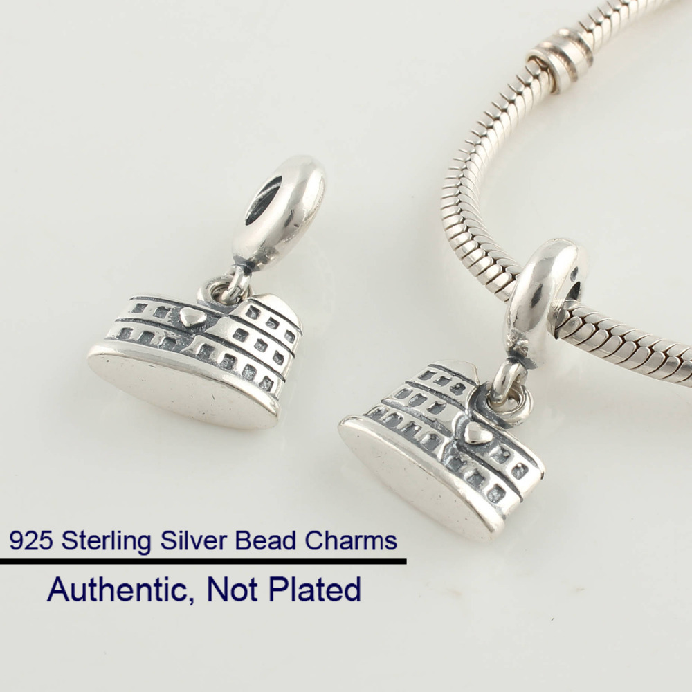 Pandora Jewelry Free Shipping: Fits For Pandora Bracelets Rome Charms 100% Sterling
