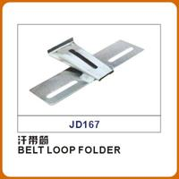 BELT LOOP FOLDER Sewing machine parts, sweat band, cap, special double needle or 4 needle