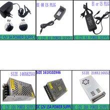 New dc 12V Power Supply AC 110-240V To DC Adapter For Led Strips led light led tape diode