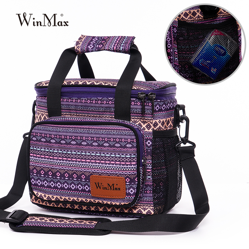 Winmax New Lunch Bags Women Portable Functional Insulated Thermal Box Food Fresh Keeping Picnic Men Travel Cooler Lunch Bag Tote