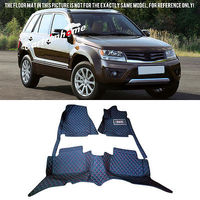 Left Hand Drive! Car Floor Mat Pad 1set For Suzuki Grand Vitara 2006 2014