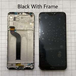 """Image 2 - 5,84 """"AAA Qualität LCD + Rahmen Für Xiao mi mi A2 Lite LCD Display + Touch Screen Digitizer Montage für Xiao mi Red mi 6 Pro LCD Ersetzen"""