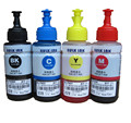 Dye ink  OEM 4 color Refill Ink Kit 70ml for Epson L100 L110 L200 L210 L300 L355 L120 L130 L1300 L220 L310 L365 L455 L550 L565