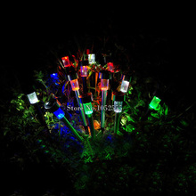 High Quality waterproof solar lamps Stainless Steel Spot Light Solar LED Path Light Outdoor Garden Lawn lightings D142