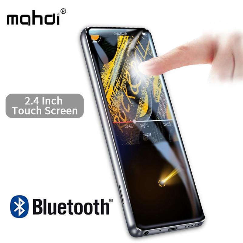 Mahdi M600 MP3 Lettore Bluetooth HiFi 2.4 Pollici Touch Screen Video player Senza Fili Portatile di Sport MP3 8 gb Built-In Altoparlante radio FM