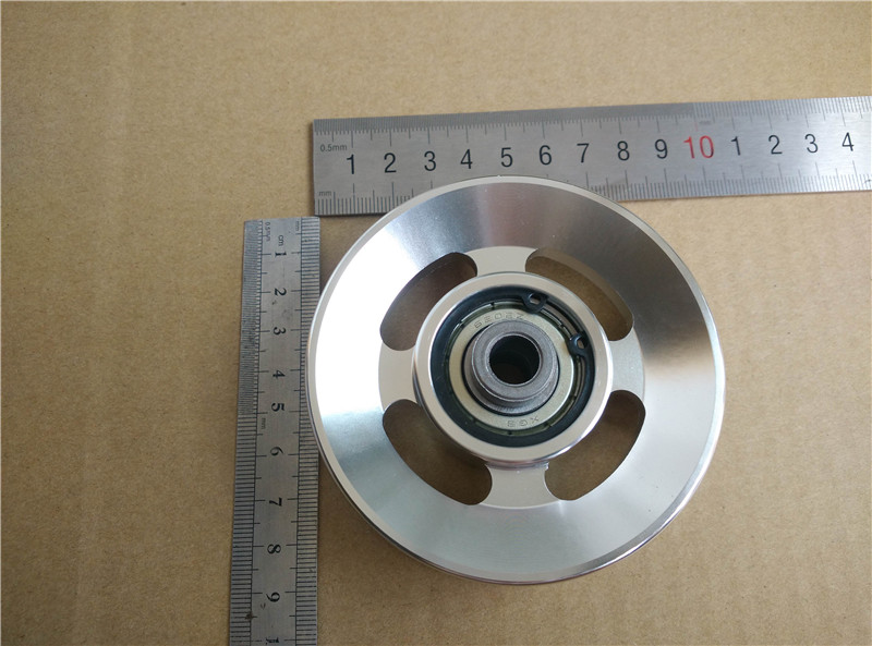 Universal 88mm Aluminum Bearing Pulley Wheel Cable Gym Fitness Equipment Parts