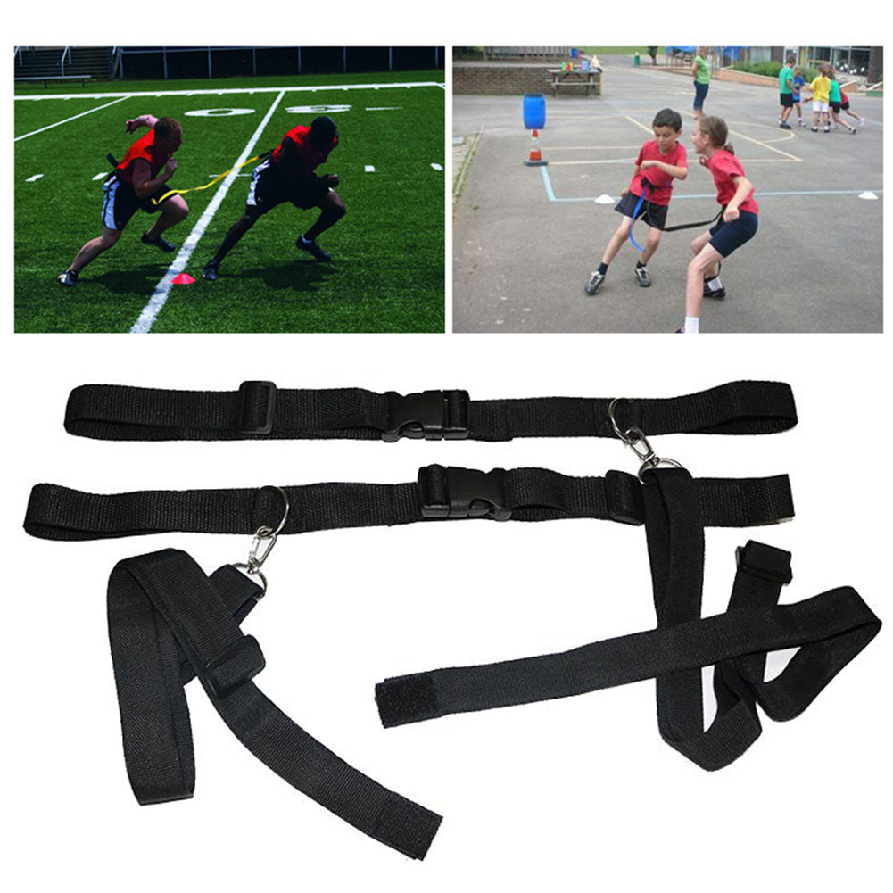 Basketball Football Soccer Agility Defensive Ability Training Equipment Speed Reaction Belt Waist Resistance Band