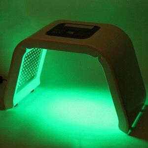 Image 2 - Портативный светодиодный светильник терапия светодиодный Омоложение кожи устройство 7 CLor красный синий желтый зеленый светодиодный светильник