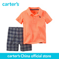 Carter's 2 pcs baby children Polo Short set 229G123, sold by Carter's China official store