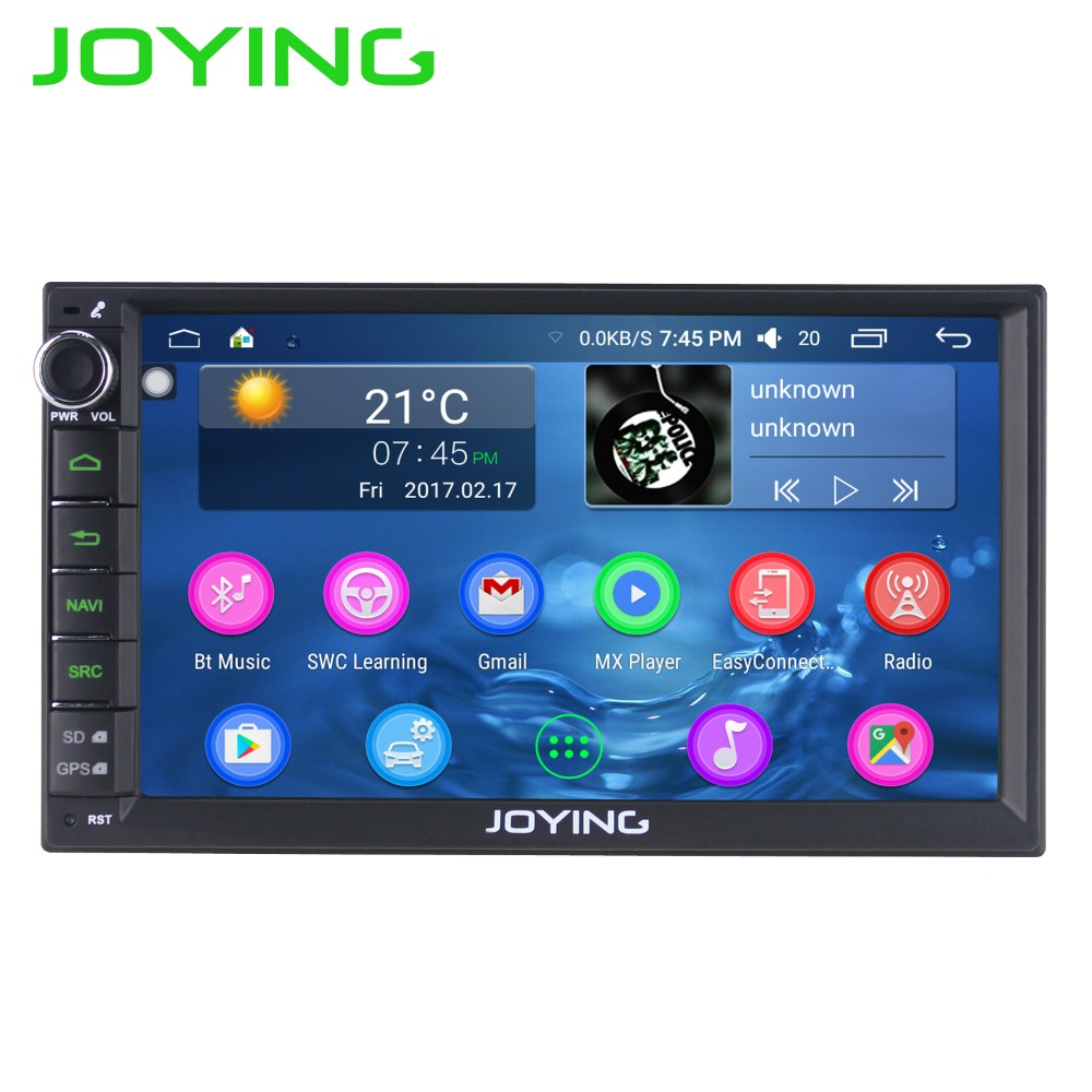 8 Quad Core Android 6 0 Car Stereo Radio For Universal Double Din GPS 2G+32G