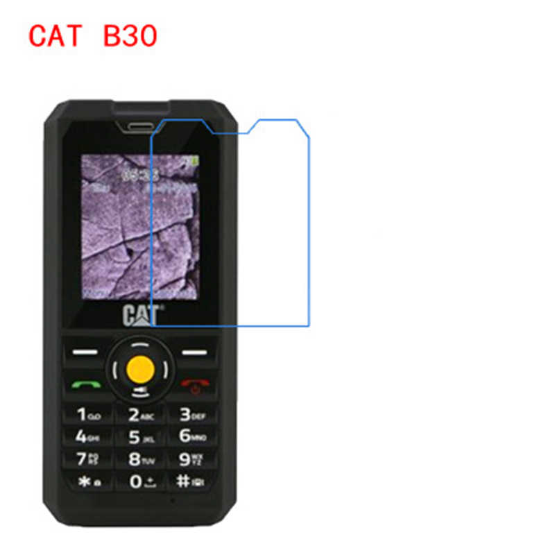 5 Pcs Ultra Thin Clear HD LCD Screen Guard Protector Film With Cleaning Cloth For CAT B30.
