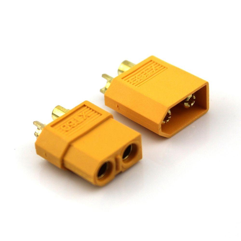 10PCS(5pairs) XT60 XT-60 Male Female Bullet Connectors Plugs For RC Lipo Battery (5 x Male +5 x Femelle) 75ohm coaxial female connectors plugs 5 pcs