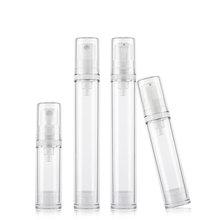 24X5 мл 10 мл 15 мл маленькие безвоздушные косметические бутылочки лосьон крем насос спрей Духи Дорожный упаковочный контейнер для косметической продукции бутылка