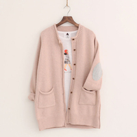 New Women Cardigans Fashion Autumn Winter Knitted Jacket Female Elegant Long Cardigan Casual Loose Pockets Sweaters
