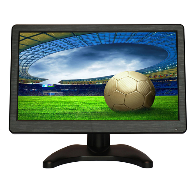11.6 Inch TFT LCD HD 1920*1080 Video Monitor HDMI VGA BNC AV Video Audio HDMI Input For DSLR DVD PC CCTV Camera with Speakers