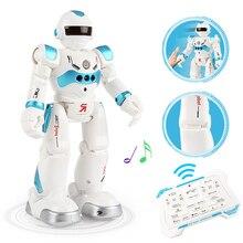 Робот зарядка через usb Танцы жест Фигурки Игрушка Робот Управление RC робот игрушки