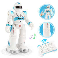 New RC Robot Remote Control Robot toy Dancing Gesture Action Figures Toys for children boys