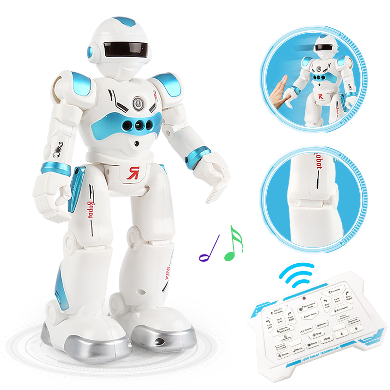 Nuevo Robot de carga USB bailando gesto figuras de acción Robot de juguete RC juguetes Robot