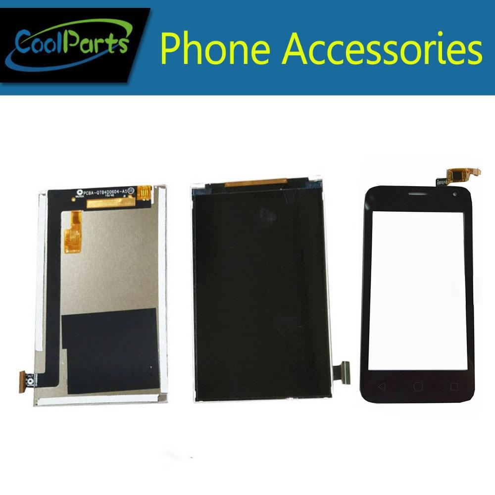 1 pc/lot alta calidad 4,0 ''para Alcatel one Touch Pixi 4024 OT4024D 4024D 4024X OT4024 pantalla LCD + Touch digitizador de la pantalla