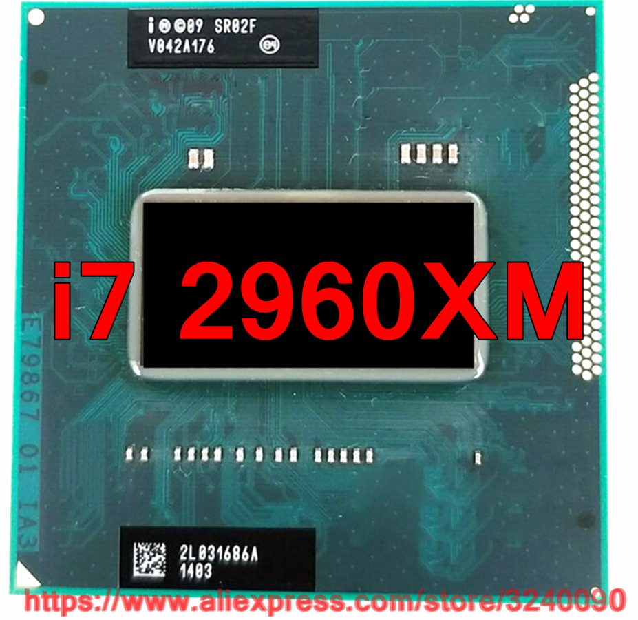 Intel Core i7-2960XM Extreme Edition 2.7GHz Quad-Core(SR02F)CPU Processor