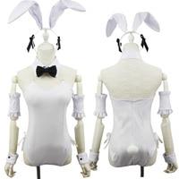 Yosuga No Sora Kasugano Sora White Bunny Girl Cosplay Costume New