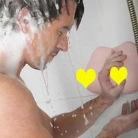 Breast Shape Bathroom Wall Mount Shower Soap Box Gel Shampoo Pump Dispenser Tool