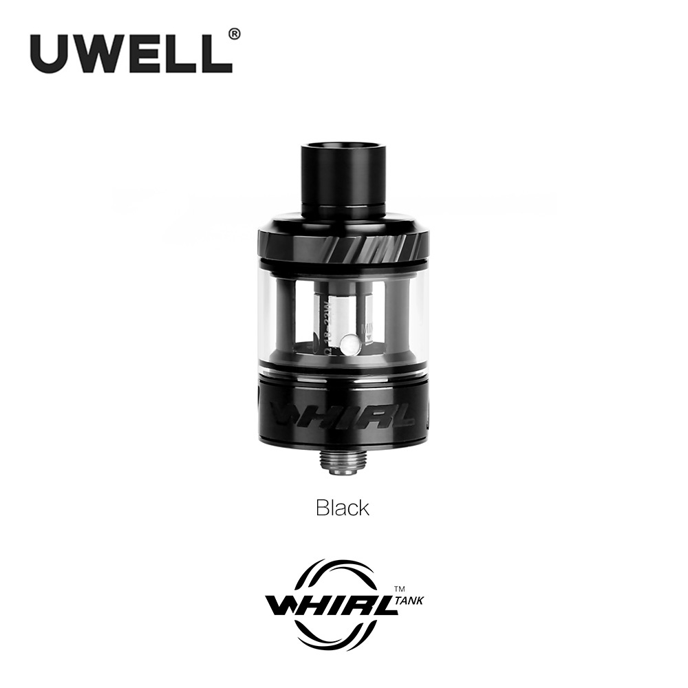 Uwell Whirl Tank Atomizer 3.5ml For Electronic Cigarette Hypercar 80W TC Box Mod Plug-pull coil MTL/ DTL vaping