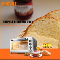 Shipule 230 градусов Цельсия профессиональный коммерческий Электрический электрическая духовка пицца печь для выпечки хлеба торт Яйцо Пирог