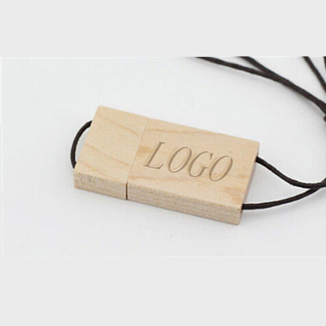 Hot 16GB wooden usb 2.0 memory stick flash drive pen drive thumb disk gift (more then 30 pcs can print loso)