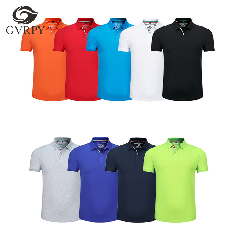 Hotel Restaurant Short-sleeved Waiter Jacket Running Fitness Breathable POLO Shirt Company Activity Work Shirt Summer Unisex
