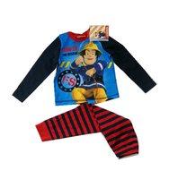 2016 New Arrival Kids Pajamas 2pcs Baby Boys Pigiama Cool Fireman Sam Pyjama Long Sleeve Nightwear