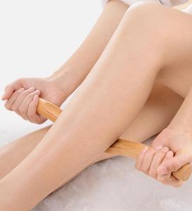 Image 5 - 4 Pcs Guasha Scraping Stick Made From Natural Wood Fast Large Area GuaSha Set For Back Shoulder Neck Waist Leg Massage Tools