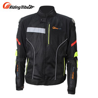 Riding Tribe Men Motorcycle Jacket Windproof Moto Jacket Motorbike Jacket Men Motorcycle Clothes JK 27 M