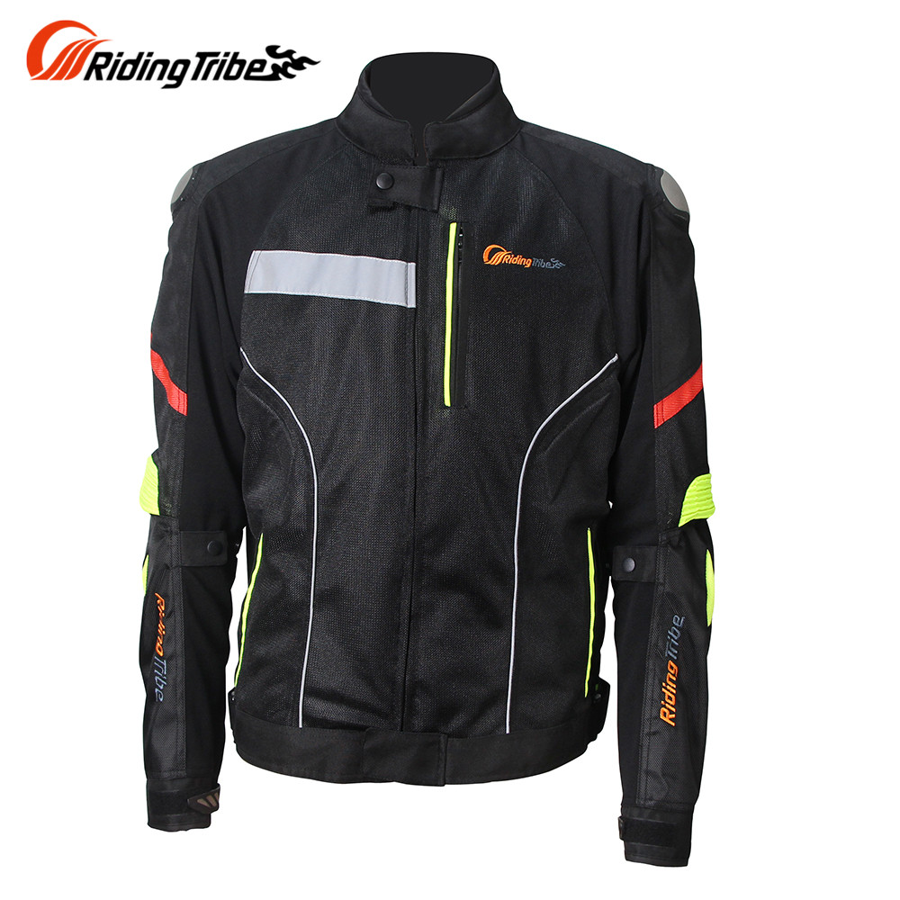 Riding Tribe Men Motorcycle Jacket Windproof Moto Jacket Motorbike Jacket Men Motorcycle Clothes JK-27 M-XXXL Size scoyco p027 2 motorcycle protective pants racing trousers sports riding windproof wears motorbike with ce kneepad m xxxl black