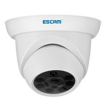 ESCAM QH001 1080P HD Dome IP Camera Home Surveillance Security Camera Night Vision Motion Detection H.265 ONVIF fl ip1550dt p1 h 265 ip camera 5mp dome surveillance ip camera night vision camera ir cut filter home security onvif