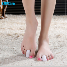 2Pcs Silicone Gel Toe Tube Foot Corns Remover Blisters Gel Bunion Toe Finger Protector Foot Massager Insoles Feet Care Z19401