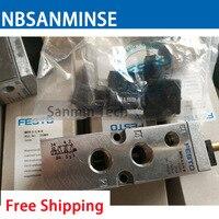 МФХ электромагнитный клапан с катушкой 1/4, 1/8 оригинальный электромагнитный клапан NBSANMINSE